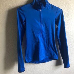 Nike Blue Half Zip